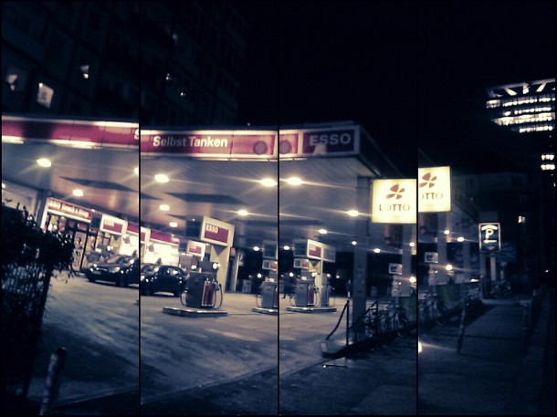 Esso-Tanke auf'm Kiez   © medienstrand.de