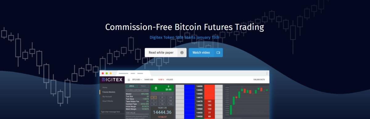 ICO: Der Digitex Futures Coin/Token