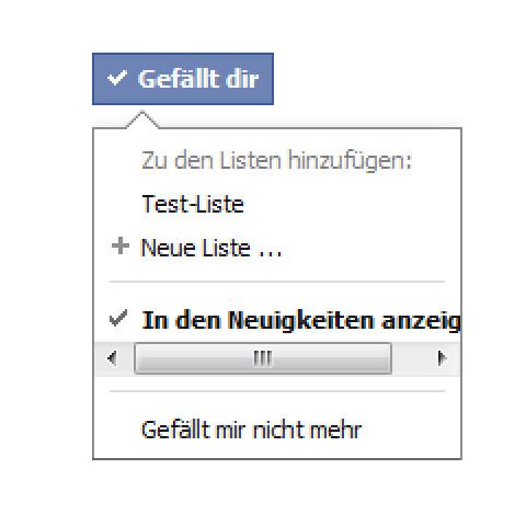 Facebook: Interessen Listen – Oder: Es wird immer schwerer Fans zu bekommen.