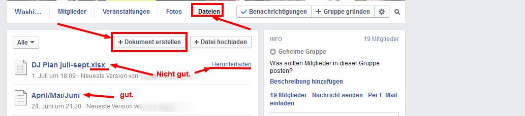 Gemeinsam an Dokumenten arbeiten – in Facebook!