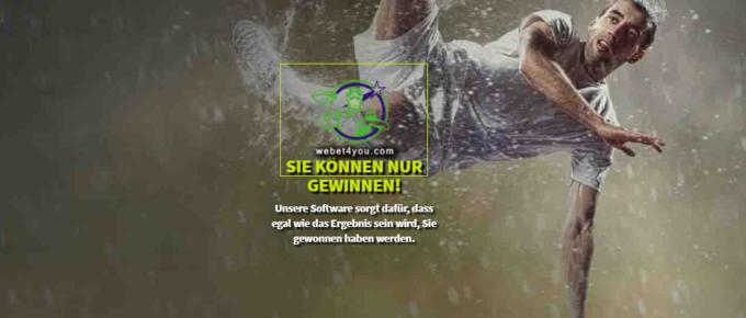 WeBet4You – 4% p. Woche mit Sportwetten?