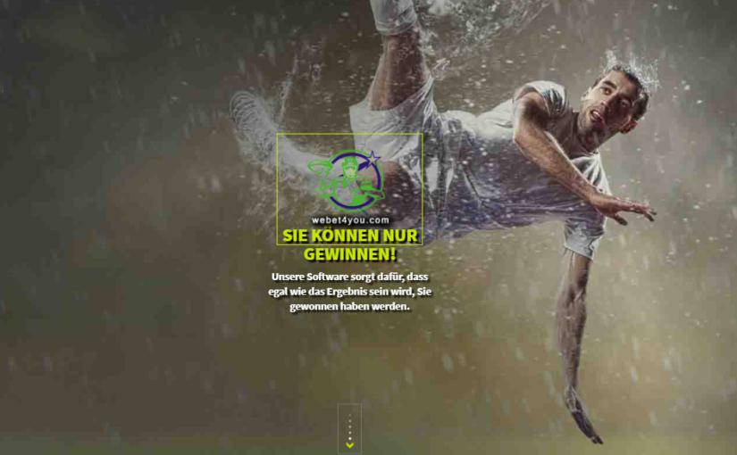 WeBet4You: Arbitrage Sportwetten (Surebets)